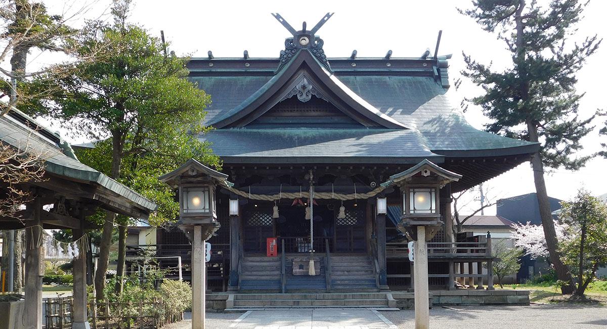 堀出神社について